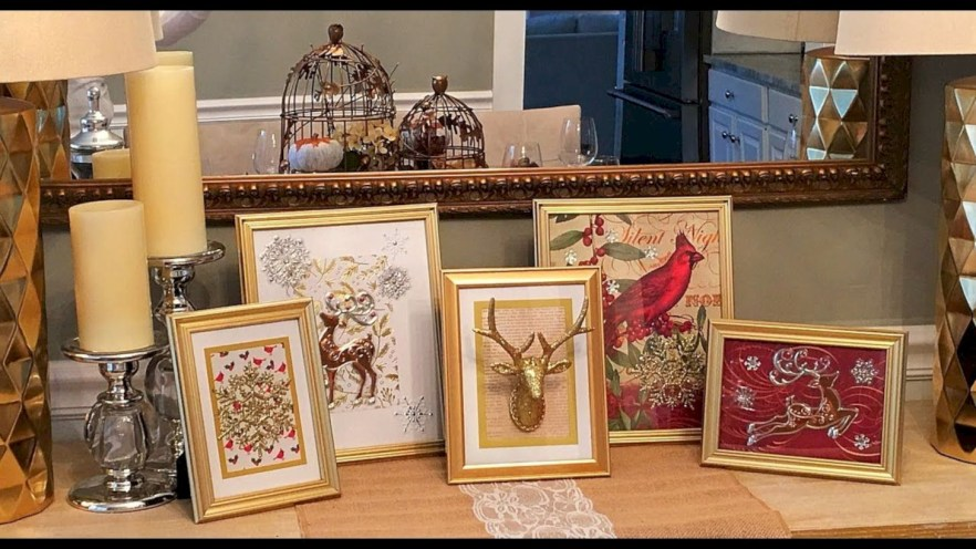 Diy holiday projects using dollar store ornaments 50
