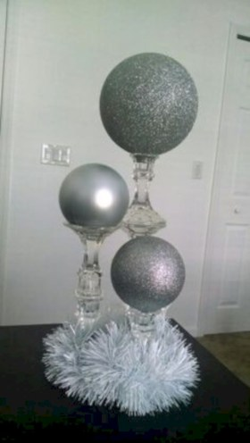 Diy holiday projects using dollar store ornaments 51