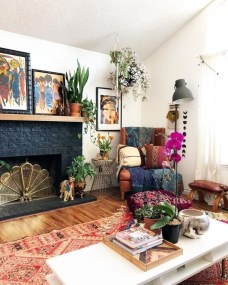Enthralling bohemian style home decor ideas to inspire you 05
