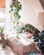 Enthralling bohemian style home decor ideas to inspire you 29