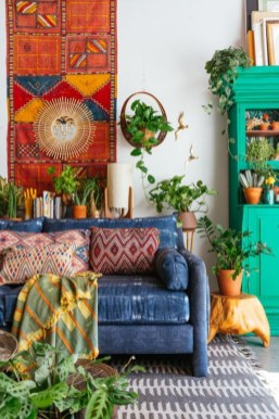 Enthralling bohemian style home decor ideas to inspire you 39