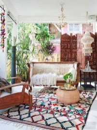 Enthralling bohemian style home decor ideas to inspire you 48