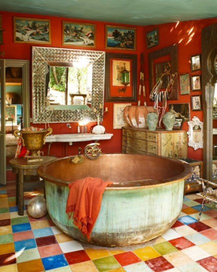 Enthralling bohemian style home decor ideas to inspire you 52