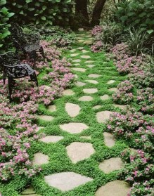 Pathway design ideas for your garden 19