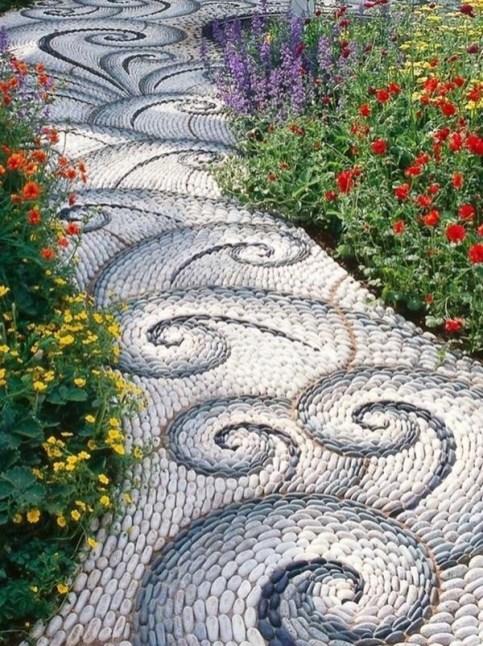 Pathway design ideas for your garden 40