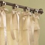 Smart and creative places to hang curtains other than window 11