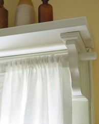 Smart and creative places to hang curtains other than window 14