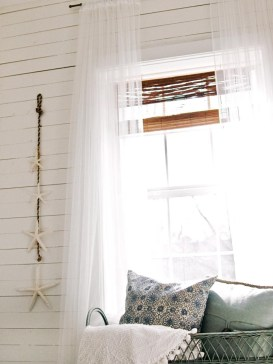 Smart and creative places to hang curtains other than window 19