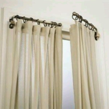 Smart and creative places to hang curtains other than window 21