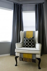 Smart and creative places to hang curtains other than window 36