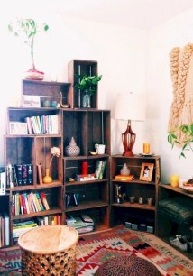 Diy wood crate shelves projects to calm the clutter effectively 04