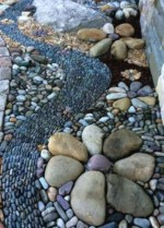 Simple rock garden decor ideas for your backyard 10
