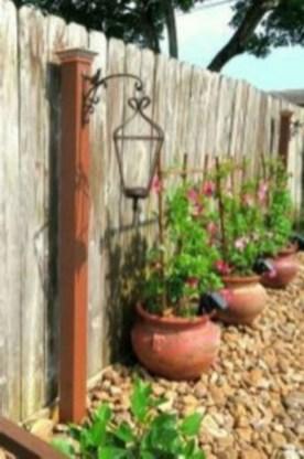 Simple rock garden decor ideas for your backyard 17