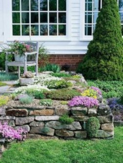 Simple rock garden decor ideas for your backyard 42