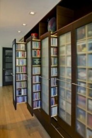 Smart and unusual book's storage ideas for book lovers 13