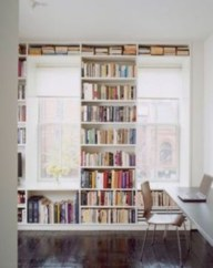 Smart and unusual book's storage ideas for book lovers 19