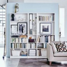 Smart and unusual book's storage ideas for book lovers 45