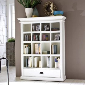 Smart and unusual book's storage ideas for book lovers 47