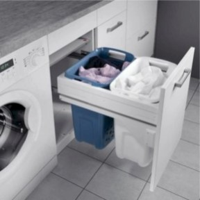 Beautiful and functional small laundry room design ideas 19