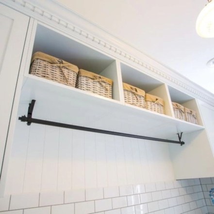 Beautiful and functional small laundry room design ideas 54