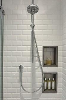 Built-in bathroom shelf and storage ideas to keep your bathroom organized 12
