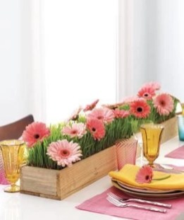 Charming rustic centerpieces that will fill up your tables 08