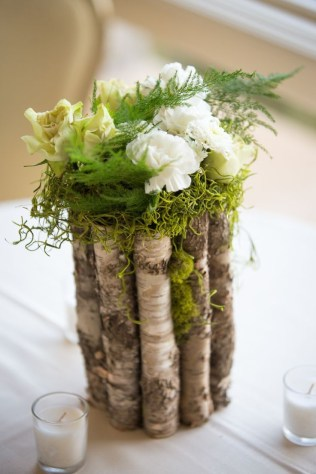 Charming rustic centerpieces that will fill up your tables 22