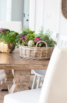 Charming rustic centerpieces that will fill up your tables 25
