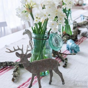 Charming rustic centerpieces that will fill up your tables 30