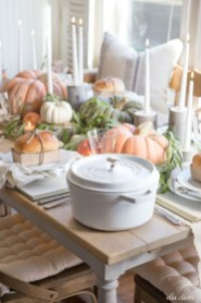 Charming rustic centerpieces that will fill up your tables 45