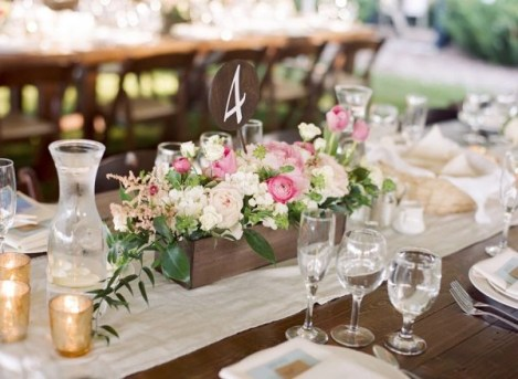 Charming rustic centerpieces that will fill up your tables 50