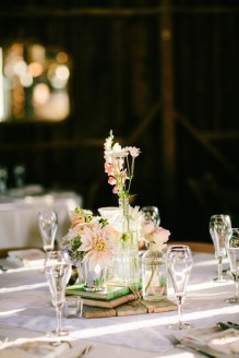 Charming rustic centerpieces that will fill up your tables 54