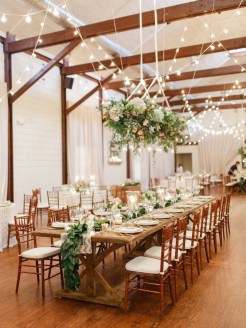Charming rustic centerpieces that will fill up your tables 55