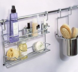 Hanging bathroom storage ideas to maximize your small bathroom space 32