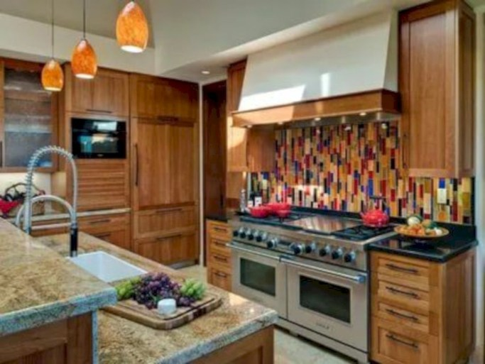 Inventive kitchen countertop organizing ideas to keep it neat 20