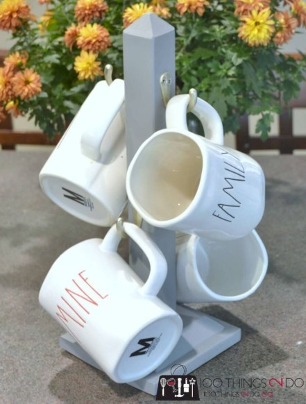 On a budget diy coffee mug holders you can easily make 05