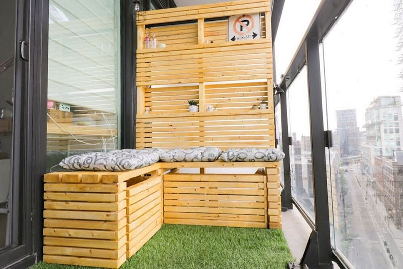 Add Multifunctional Balcony Furniture