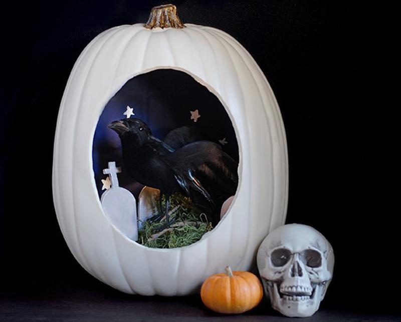 DIY Halloween Diorama