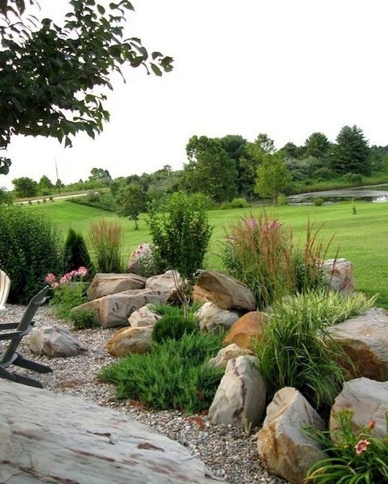 25 Gorgeous Front Yard Garden Landscaping Ideas: 25 Beautiful Front Yard Rock Garden Landscaping Design