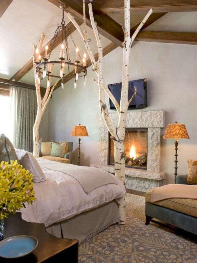 Rustic Bedroom Look