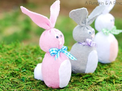 Cute DIY Bunny Socks That Will Make Your Kids Beg You To Create More Bunnies