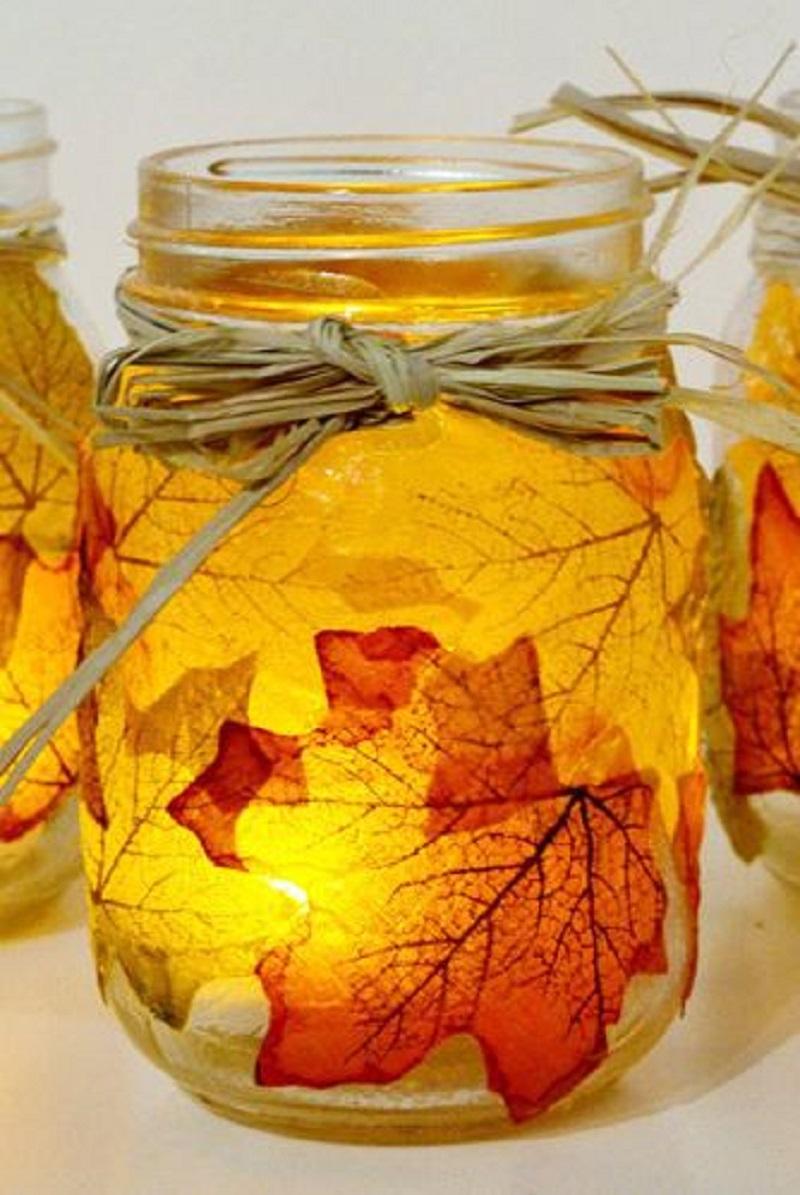 7 DIY Mason Jars Ideas That Will Make Your Fall Decoration Look Beautiful