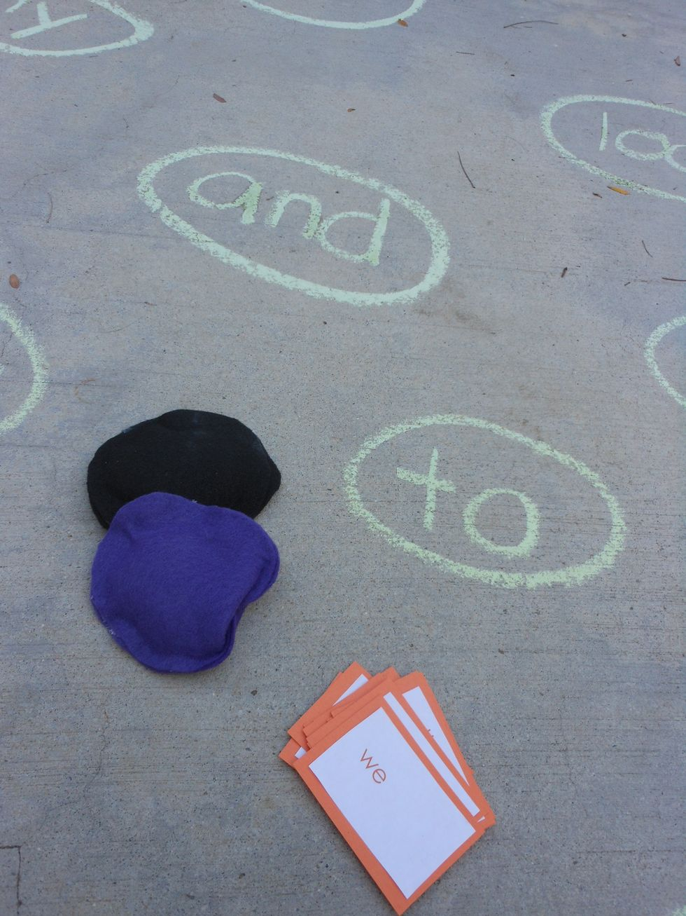 Word play DIY Chalk Art Ideas To Create The Coolest Sidewalk Where Every One Want