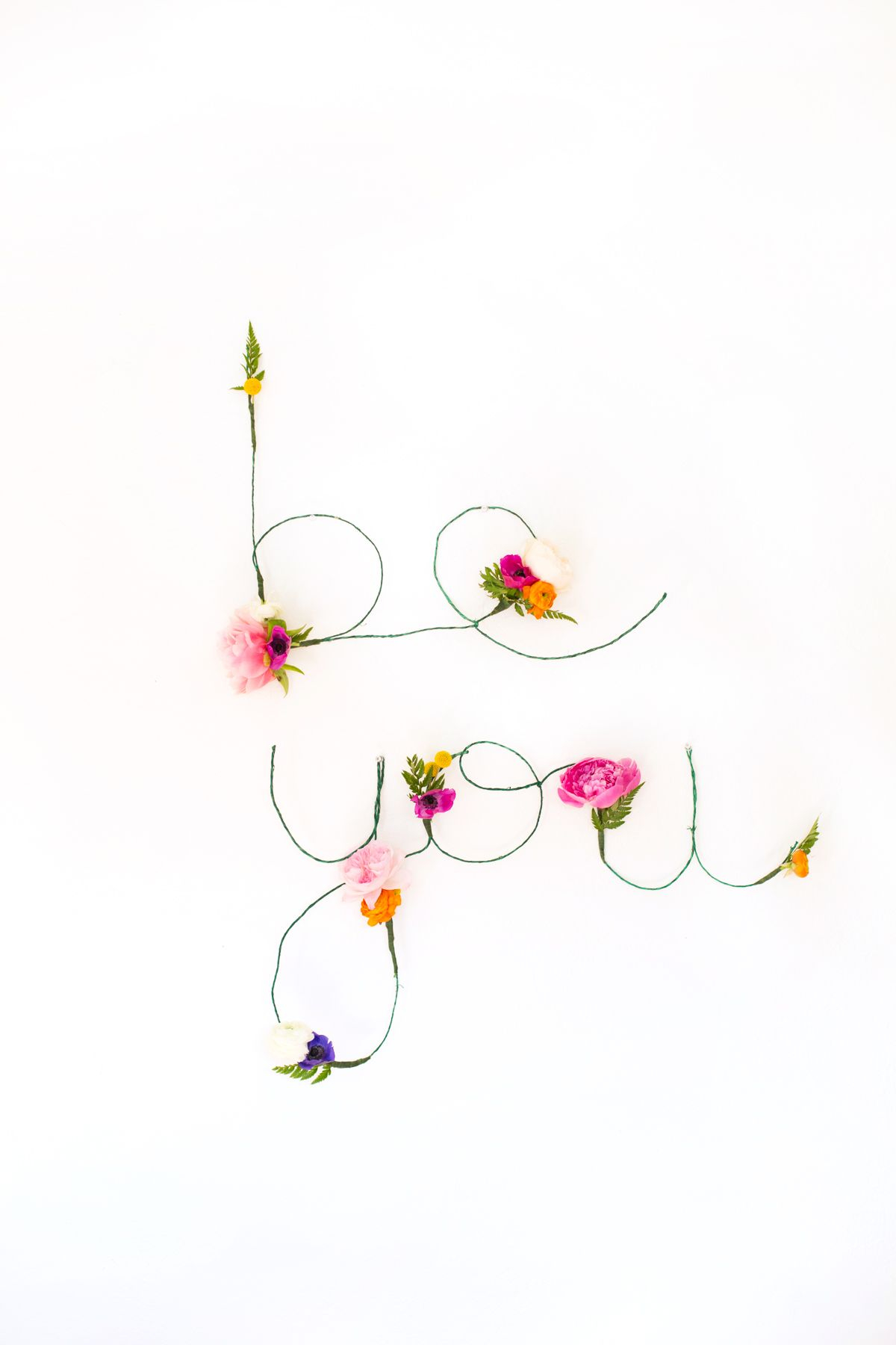 Beautiful spell out words for wall Spectacular DIY Ideas To Create Foremost Dorm Room Décor