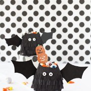 Striking DIY Halloween Trick-Or-Treat Bags As Your Crafting With Kids Projects