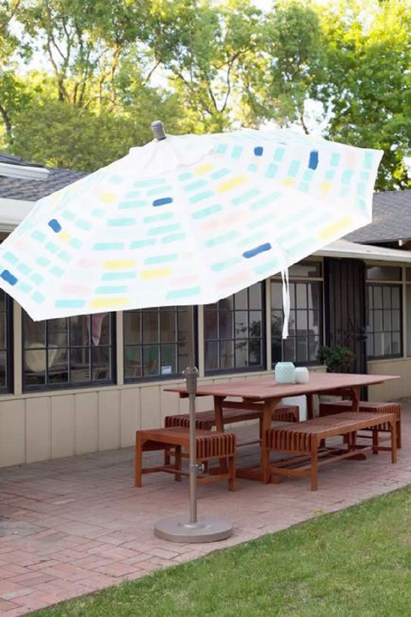 Diy painted umbrella