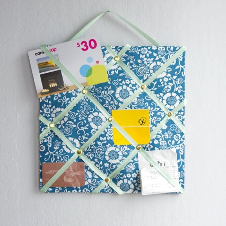 French memo board Utilitarian DIY Memo Boards Ideas For Your Home Or Office