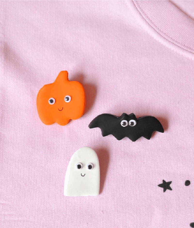 Halloween pins DIY Effortless Halloween Crafts For Kids To keep Them Busy This Month