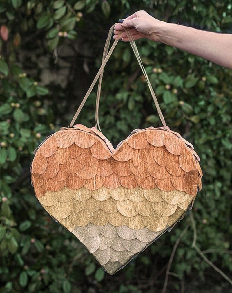 Heart pinata DIY Pinatas For Every Kind Of Party You Can Make At Home