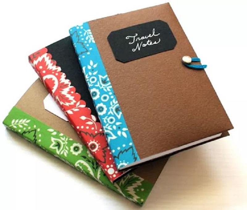 Mini memo notebook cover